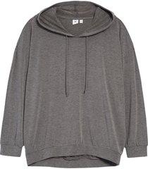 women's bp. oversize hoodie, size large - grey