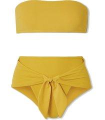 shelly bandeau bikini