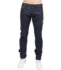 greaser cotton straight jeans