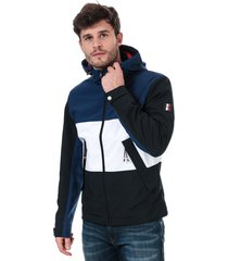 mens flex colour block jacket