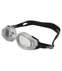 óculos de nataçáo speedo smart slc 509212-812005, cor: preto/cinza, tamanho: único