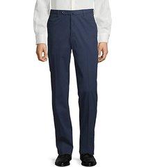 benn flat-front trousers