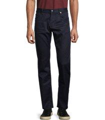 boss hugo boss men's cotton-blend pants - navy - size 30 32