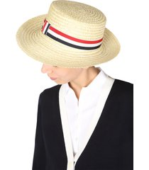 thom browne boater hat