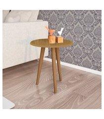 mesa lateral móveis bechara brilhante cinamomo