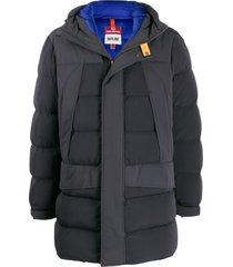 parajumpers hooded down jacket - grey