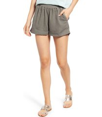 women's faherty arlie day shorts, size small - green
