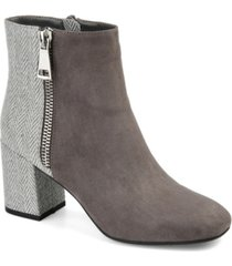 journee collection women's sarah booties women's shoes