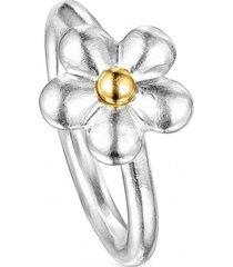 anillo fragile nature flor bicolor tous