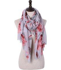 180cm sciarpa lunga da donna in pashmeere morbida pesante calda con motivo d'angelo in colore a tinta unita sciarpa scialle