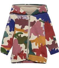 dinos all over hooded sweatshirt hoodie trui multi/patroon bobo choses