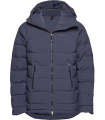 stranda down hybrid jkt outerwear sport jackets blauw bergans