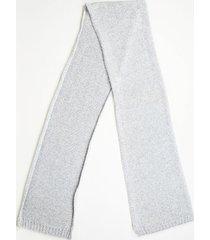 hermes cashmere knit scarf gray sz: