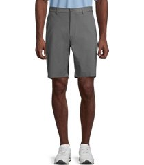 hickey freeman men's striped shorts - charcoal - size 38