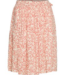 slgaby ilio skirt kort kjol rosa soaked in luxury