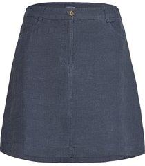 stella linen skirt kort kjol blå lexington clothing