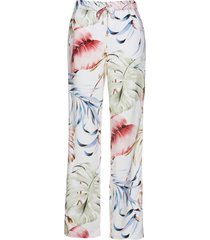 pantaloni in viscosa con bande glitterate (bianco) - bpc selection