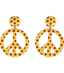 moschino earrings