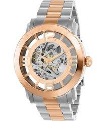 reloj invicta 22584 gris acero inoxidable