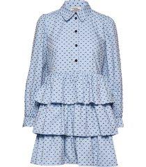anya korte jurk blauw baum und pferdgarten