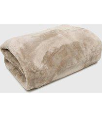 cobertor king kacyumara blanket high fend bege - bege - dafiti