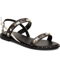 ofelia shoes summer shoes flat sandals svart guess