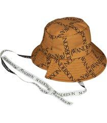 j.w. anderson asymmetric bucket hat