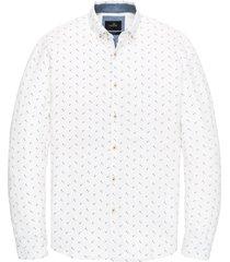 vanguard overhemd wit met print vsi201206/5302