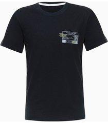 camiseta mc rolo qr code - azul marinho - 6