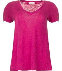 basic t-shirt kobibay  roze