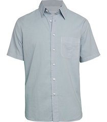 fit 3 cotton & linen beach shirt