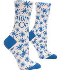 blue q atomic mom socks