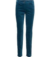 leisure trousers lon casual byxor blå gerry weber