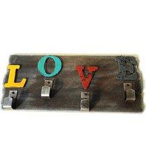 inicio carta de tapices de pared cuatro ganchos creative home salón multicolor colgante