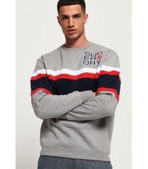 superdry men's applique weekend sweatshirt