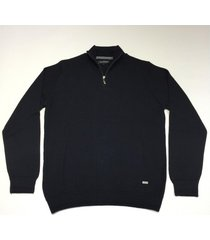 sweater negro prototype suit zip