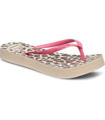 hav slim flatform animal shoes summer shoes flip flops rosa havaianas