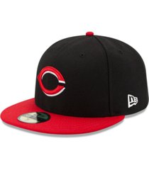 new era cincinnati reds authentic collection 59fifty cap