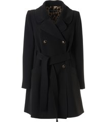 dolce & gabbana double breasted belted jacket