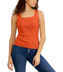 willow drive square-neck sweater knit top