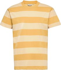 tue wide striped t-shirt t-shirts short-sleeved gul casual friday