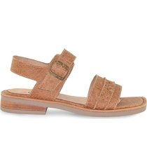 sandalia de cuero suela vemmas xacota
