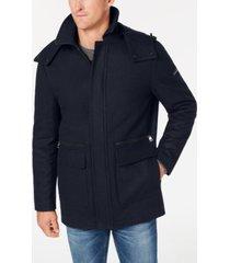 calvin klein men's duffle coat