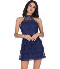 ax paris crochet tie dress