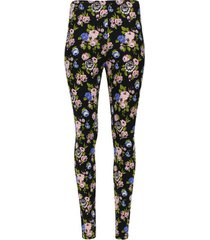 legging estampado neostrechy color negro, talla s