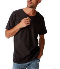 cotton on men's slub v neck t-shirt