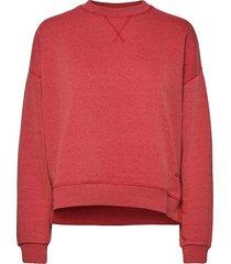 isoli sweat-shirt tröja rosa ganni