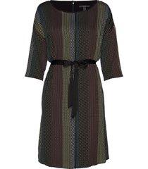 dresses light woven jurk knielengte multi/patroon esprit collection