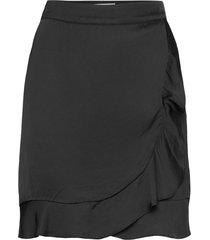 deena skirt skirts wrap skirts svart by malina