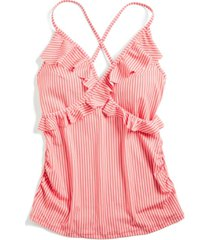 motherhood maternity ruffled tankini swimsuit